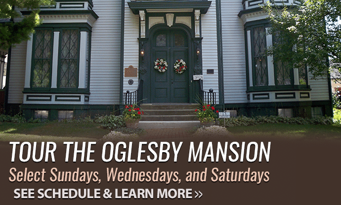 Tour the Oglesby Mansion